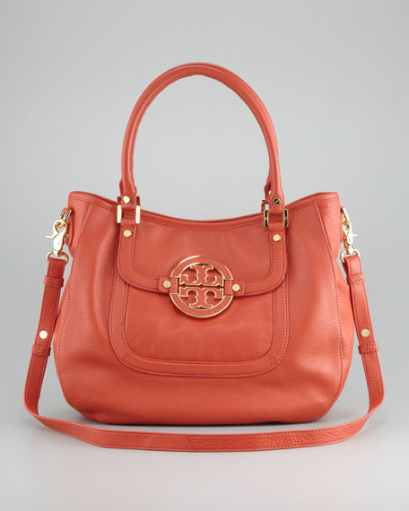 Amanda Pebbled Hobo Bag