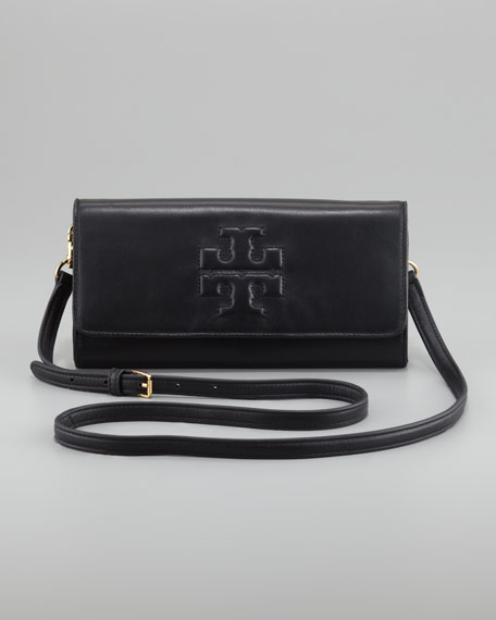 Bombe Clutch Bag, Black