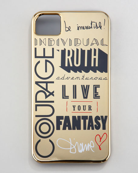 Typographic iPhone 4 Case