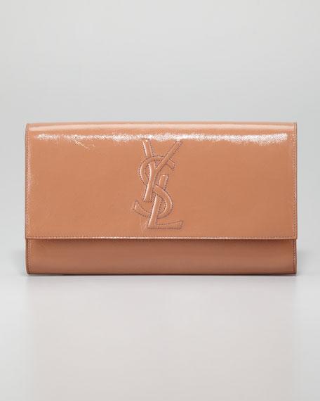 yves saint laurent black clutch - Yves Saint Laurent Belle De Jour Clutch Bag, Nude