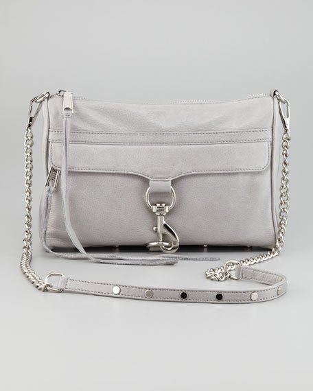 MAC Clutch Bag, Soft Gray