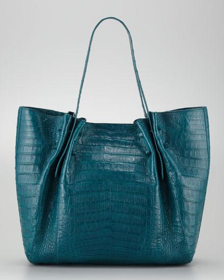 Medium Pleated Tote Bag