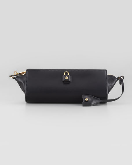 Pelican Clutch Bag, Black