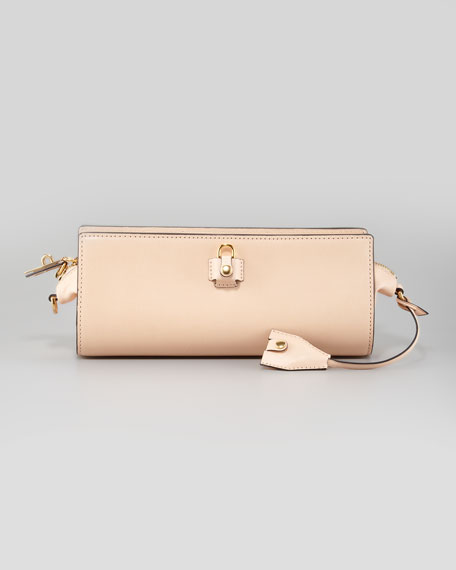 Pelican Clutch Bag, Nude