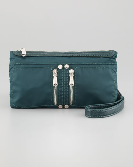 Thomas Mini Crossbody Bag, Emerald