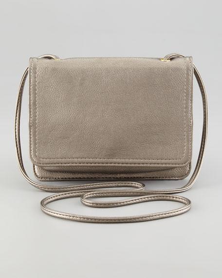 Mini Crossbody Bag, Pewter