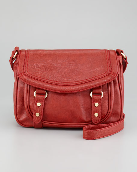 Morgan Crossbody Bag, Red