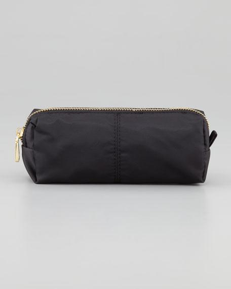 Nylon Cosmetic Case, Black