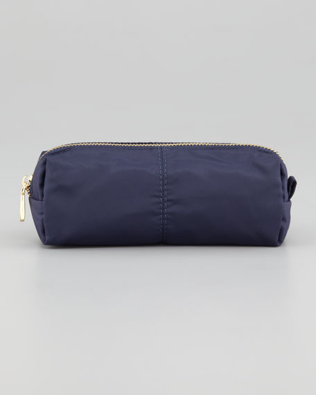 Nylon Cosmetic Case, Navy