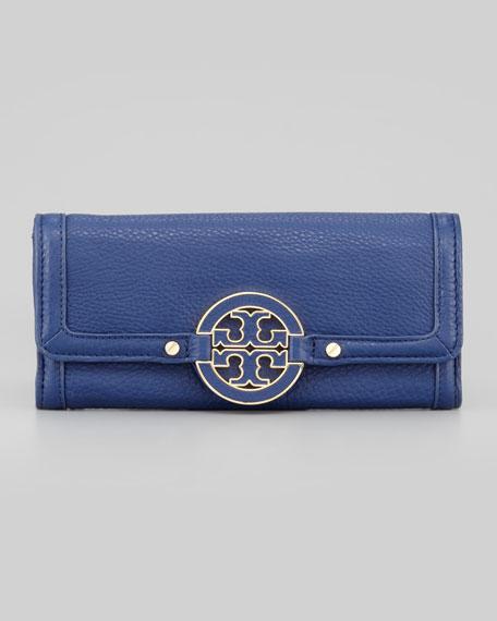 Amanda Continental Wallet, Indigo