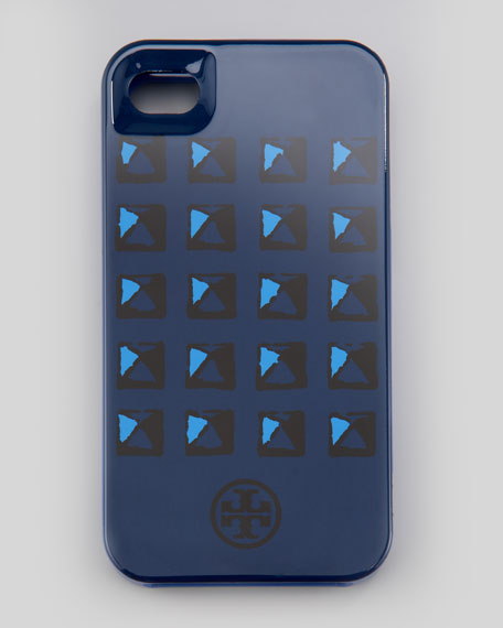 Pyramid Stud iPhone 4/4s Case, Blazer Blue