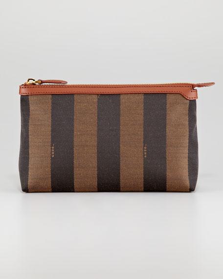 f71dcfd967 Fendi Pequin Zip-Top Large Cosmetic Bag