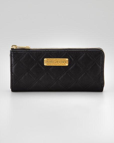 Lex Continental Wallet, Black