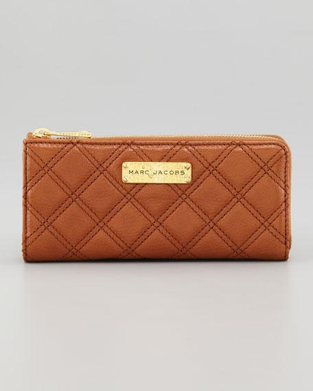 Lex Continental Wallet, Cognac