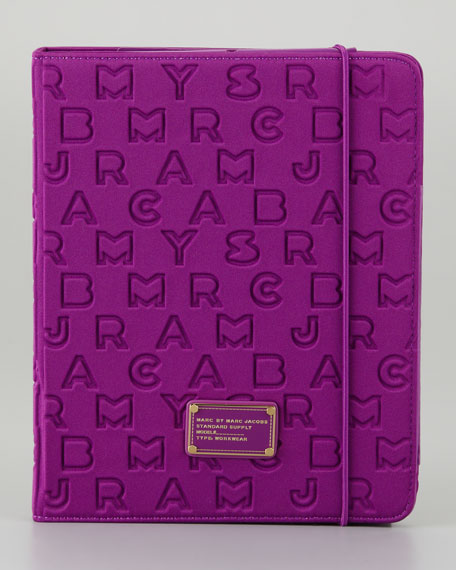Dreamy Logo Neoprene Tablet Case, Violet