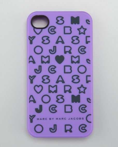 Stardust iPhone 4 Case, Violet
