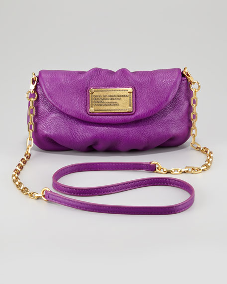 Classic Q Karlie Crossbody Bag, Violet
