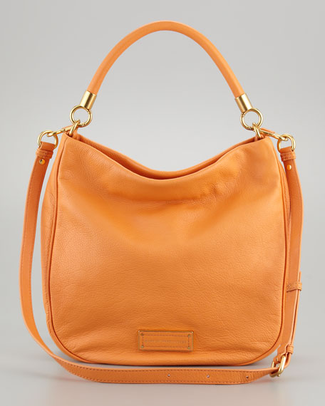 Too Hot To Handle Hobo Bag, Saffron