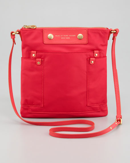 Preppy Nylon Sia Crossbody Bag, Rock Lobster