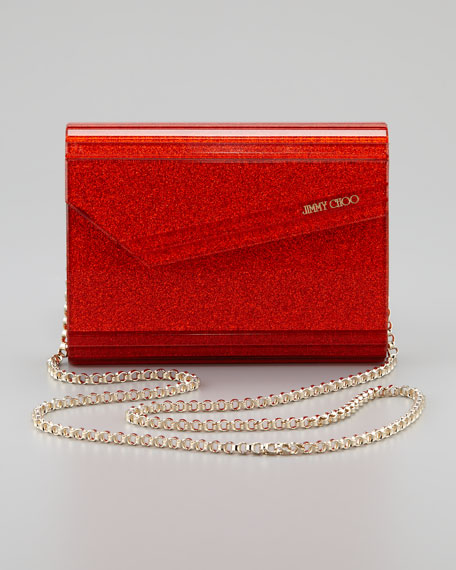 Candy Clutch Bag, Tangerine
