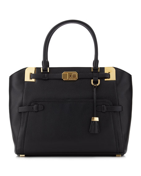 Blake East-West Satchel Bag