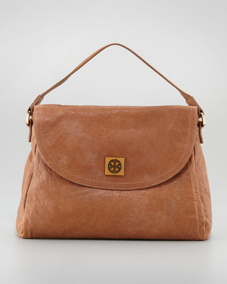 Louisa Top-Handle Tote Bag, Tan
