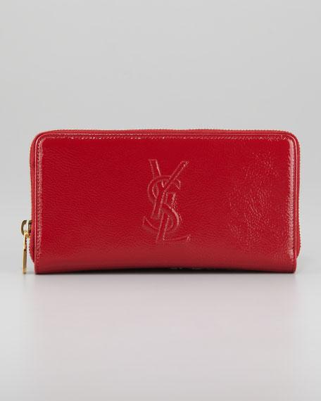 Belle De Jour Zip Wallet, Rouge