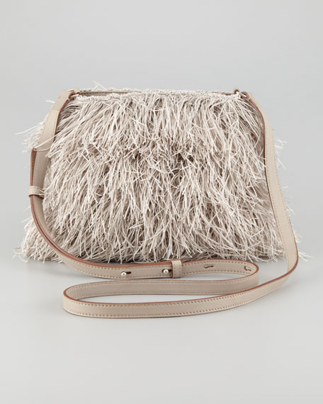 Medium Fringe Crossbody Bag