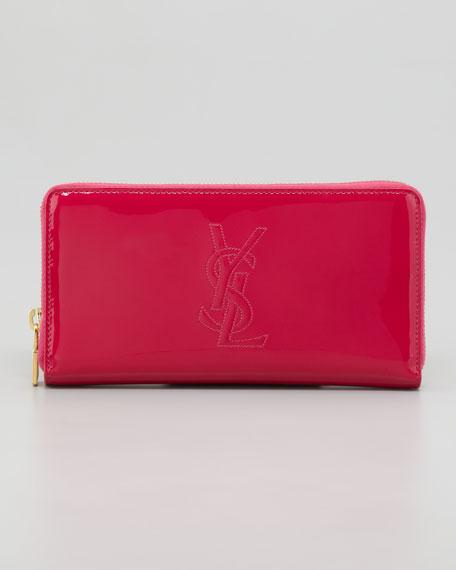 Belle De Jour Zip Wallet, Pink