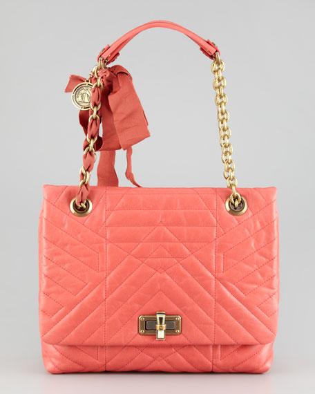 Happy Medium Shoulder Bag, Pink