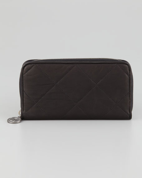 Amalia Zip Continental Wallet