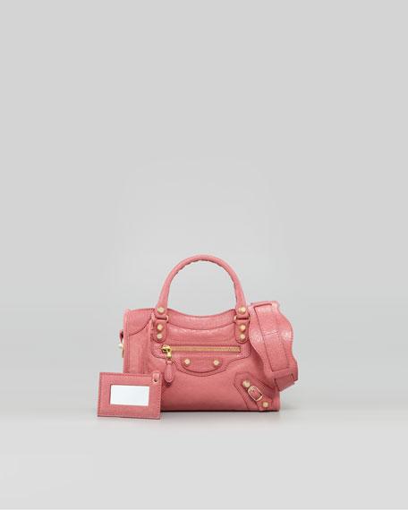 Mini Giant 12 Golden City Bag, Rose Bombon