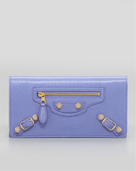 Giant 12 Golden Money Wallet, Mauve