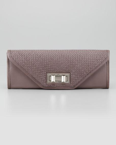 Endless Love Woven Clutch Bag