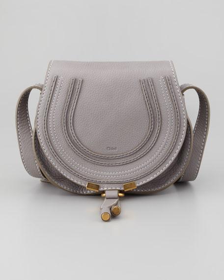 Marcie Mini Saddle Bag, Gray