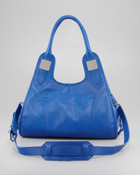 Lucas Small Leather Shopper