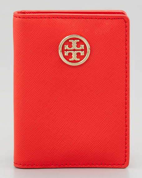 Robinson Transit Pass Holder, Poppy Red