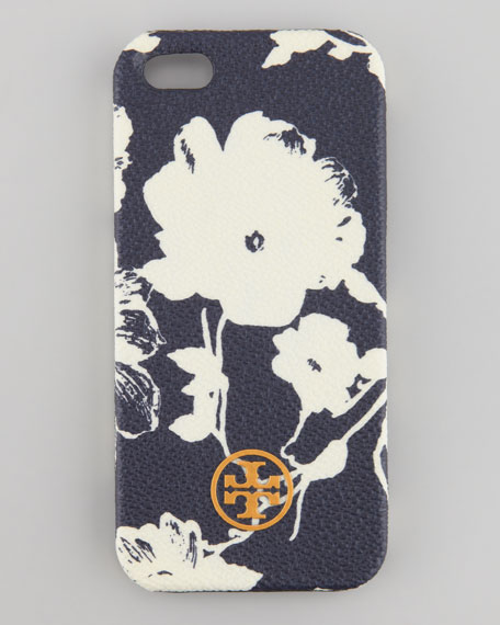 Robinson Floral Hard Shell iPhone 5 Case, Navy Multi