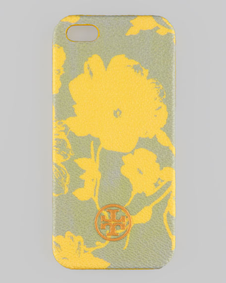 Robinson Floral Hard Shell iPhone 5 Case, Yellow Multi