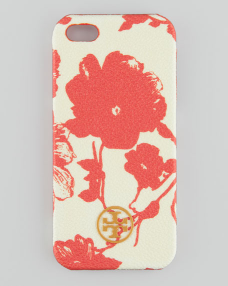 Robinson Floral Hard Shell iPhone 5 Case, Orange Multi