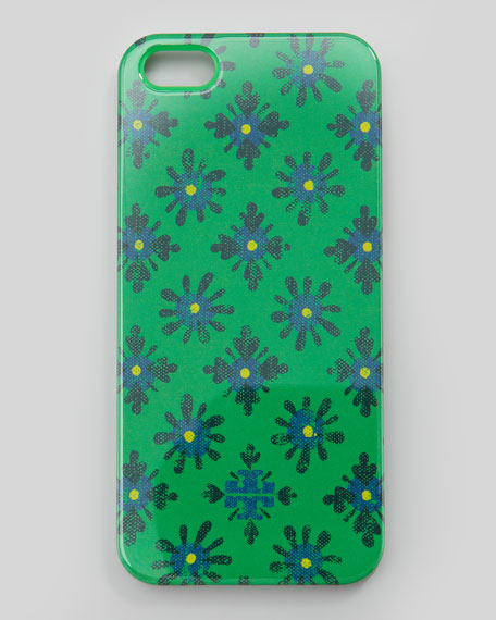 Layton Printed Hard Shell iPhone 5 Case, Green Multi