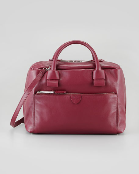 Prince Antonia Small Satchel Bag, Chianti Red