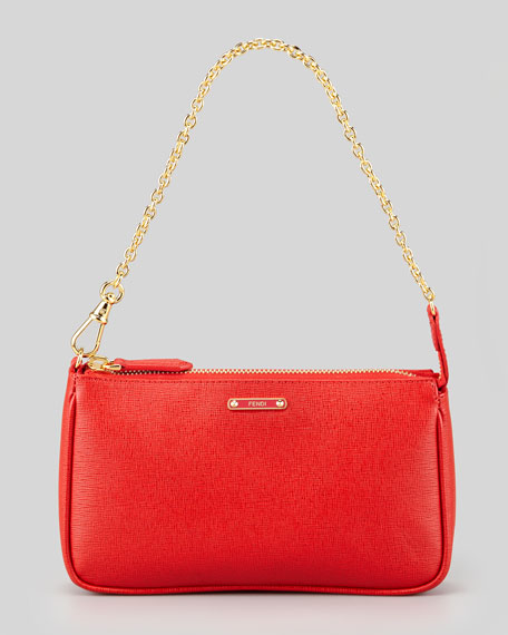 Crayon Pouchette Mini Bag, Red