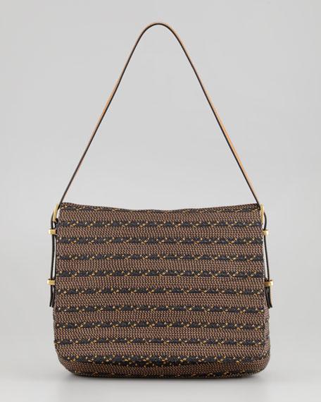 Squishee Law Shoulder Bag, Hickory Mix