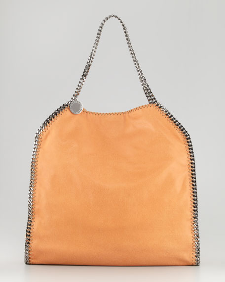 Falabella Big Tote Bag, Tangerine