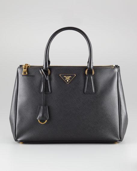 prada saffiano executive small tote bag