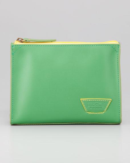 Staple Street Pouch Bag, Green/Yellow