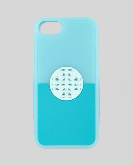Viva iPhone 5 Soft Case, Blue Multi