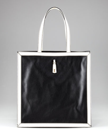 WalkY Bicolor Tote, Large