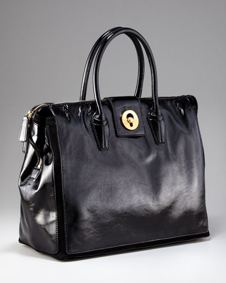 Cabas Muse Two Shopper, Black